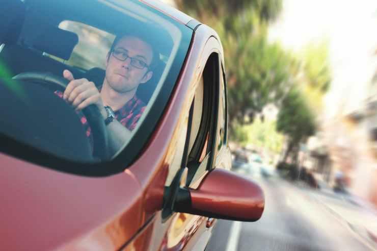 car commuter driver driving